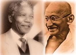 Mandela e Gandhi