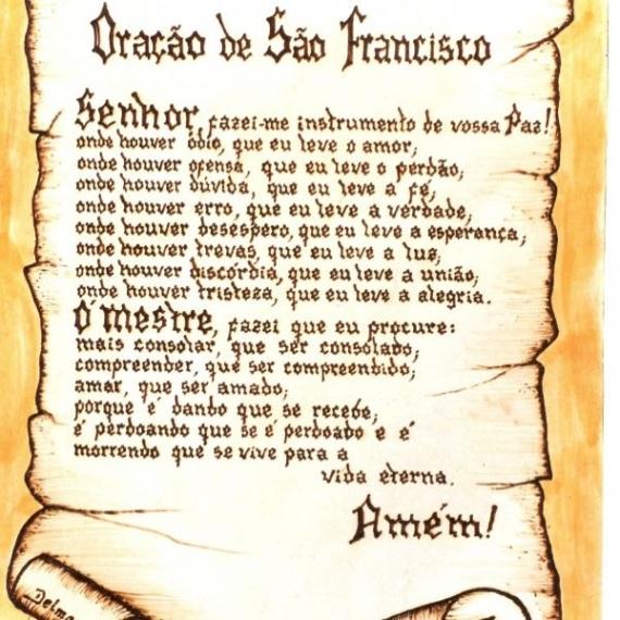 ORAÇÃO DE SÃO FRACISCO