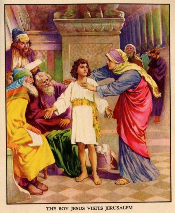 O MENINO JESUS NO TEMPLO